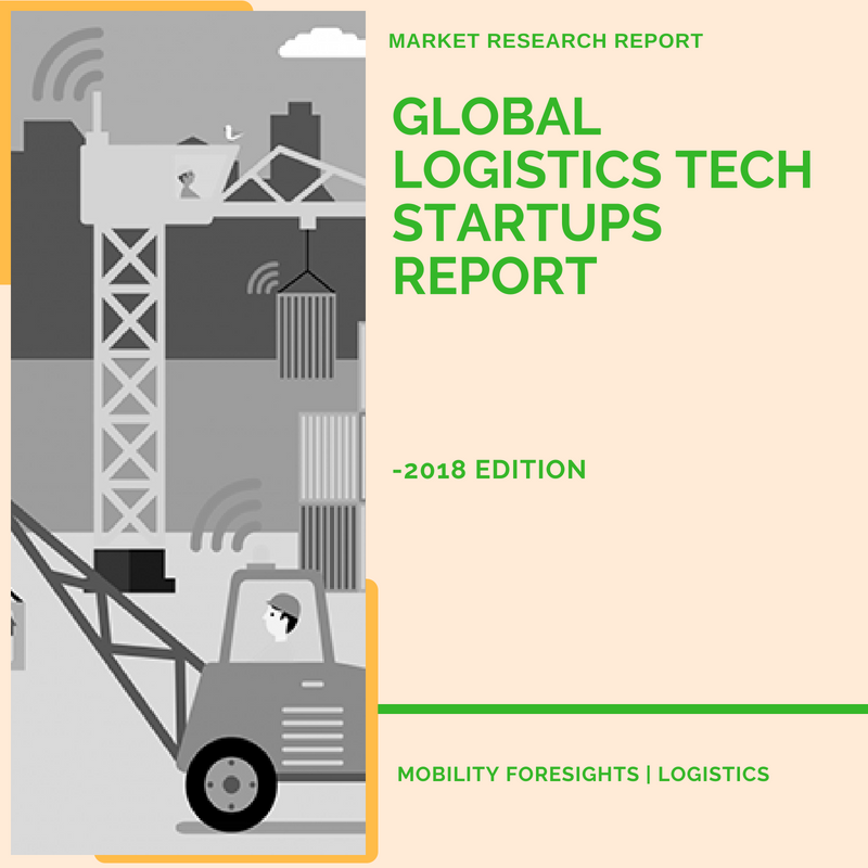 funding details of logistics tech startups