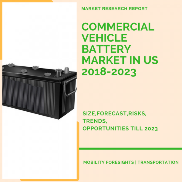 Commercial Vehicle Battery Market in US 2018-2023 1