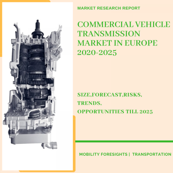 Commercial Vehicle Transmission Market in Europe 2020-2025