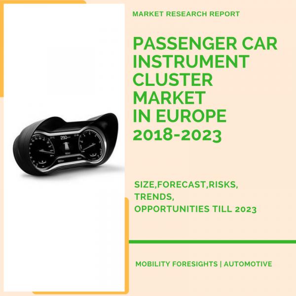 Passenger Car Instrument Cluster Market in Europe 2018-2023 1