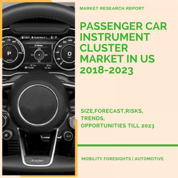Passenger Car Instrument Cluster Market in US 2018-2023 1