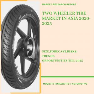 Two Wheeler Tire Market in Asia