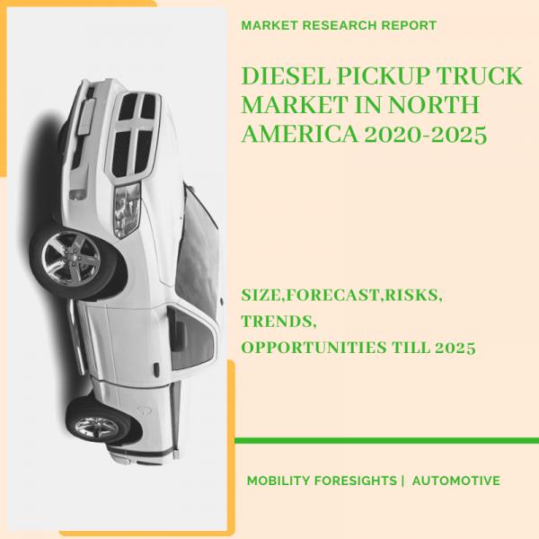 Diesel Pickup Truck Market in North America