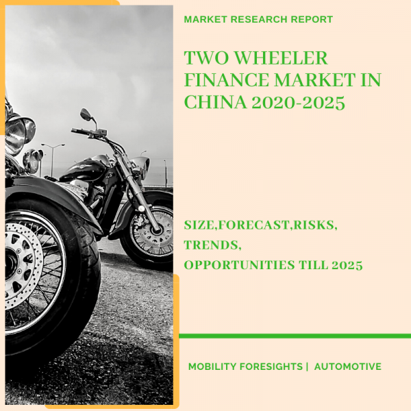Two Wheeler Finance Market in China