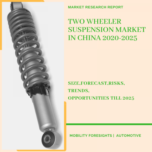 Two Wheeler Suspension Market in China 2020-2025