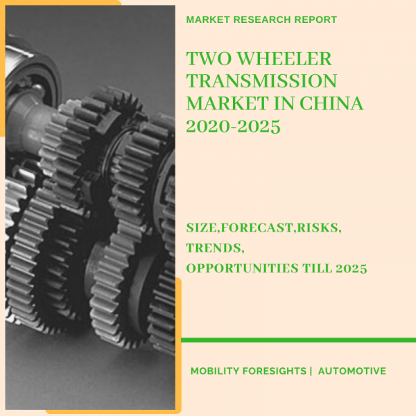 Two Wheeler Transmission Market in China