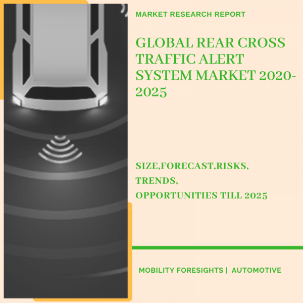 Global Rear Cross Traffic Alert System Market