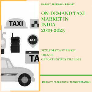 on demand taxi market report in india