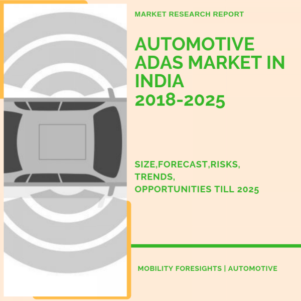 Automotive ADAS market in India market