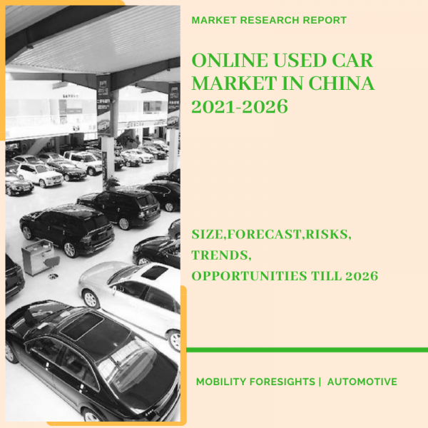 Online Used Car Market in China