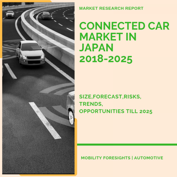 connected car market in japan report