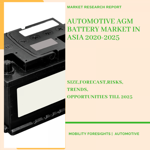 Automotive AGM Battery Market in Asia