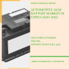 Automotive AGM Battery Market in China