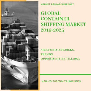container shipping market detaile dby major routes and type of cargo