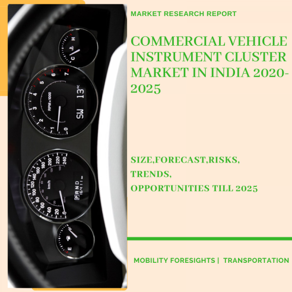 Commercial Vehicle Instrument Cluster Market in India
