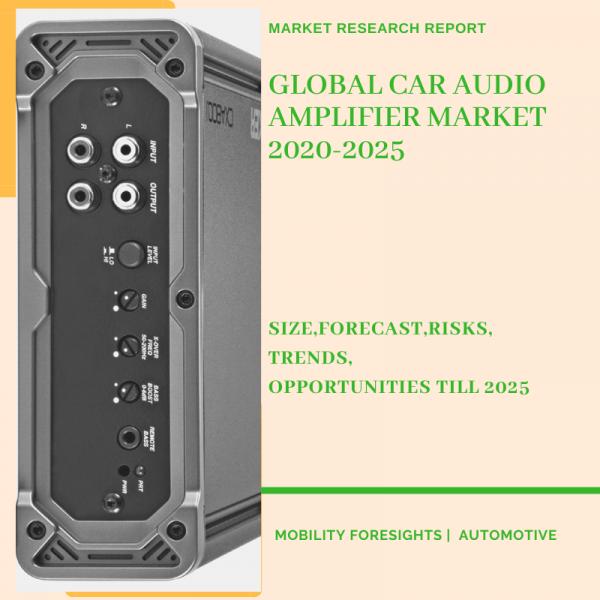 Car Audio Amplifier Market