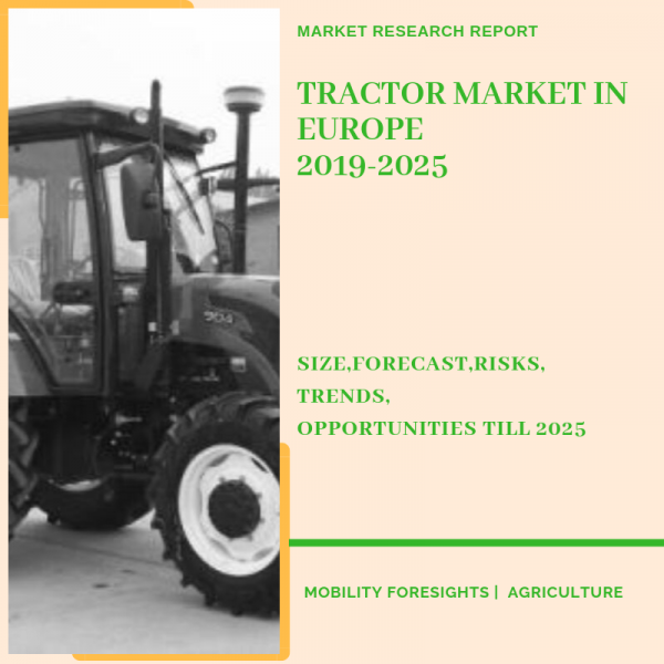 Tractor Market in Europe segmented by country, power and application