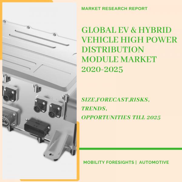 EV & Hybrid Vehicle High Power Distribution Module Market