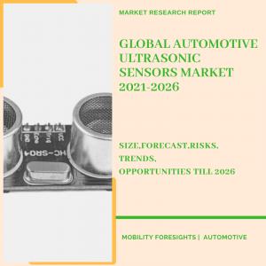Automotive Ultrasonic Sensor market report