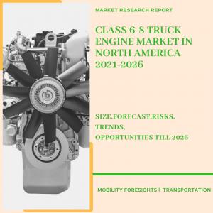 Class 6-8 Truck Engine Market In North America