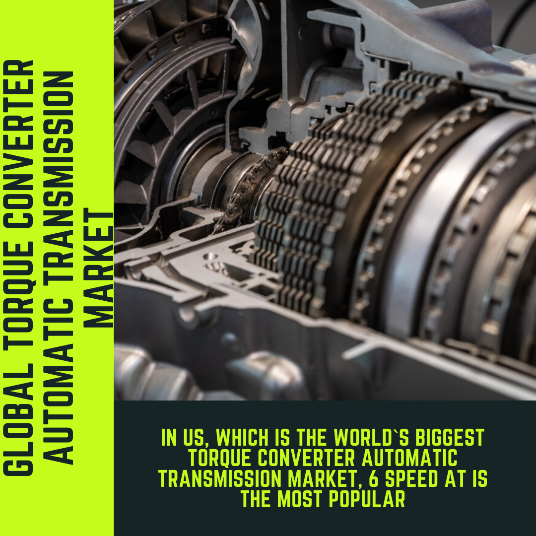 Info Graphic: Global Torque Converter Automatic Transmission market