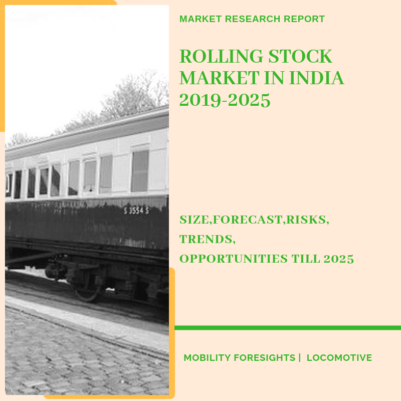 Rolling Stock Market in India segmented by coach type application and manufacturingp