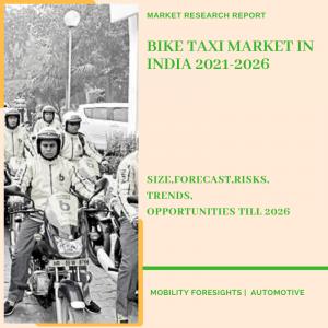 Bike Taxi Market in India