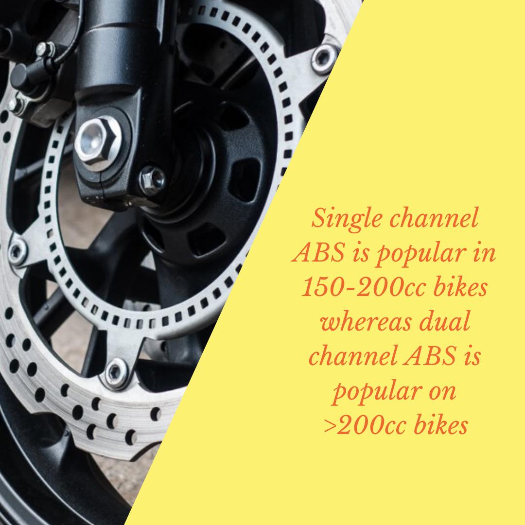 Info Graphic : two wheeler anti-lock braking system market