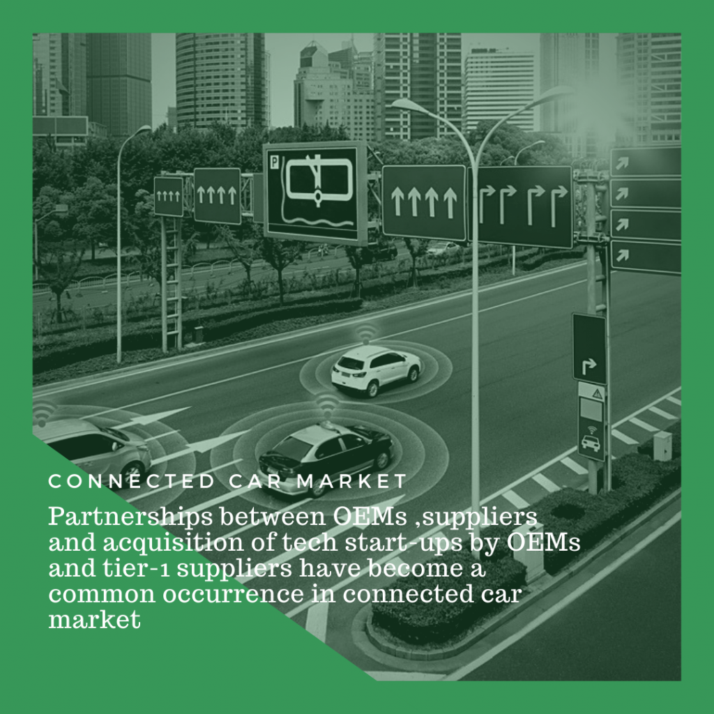 Info Graphic: Connected Car Market size