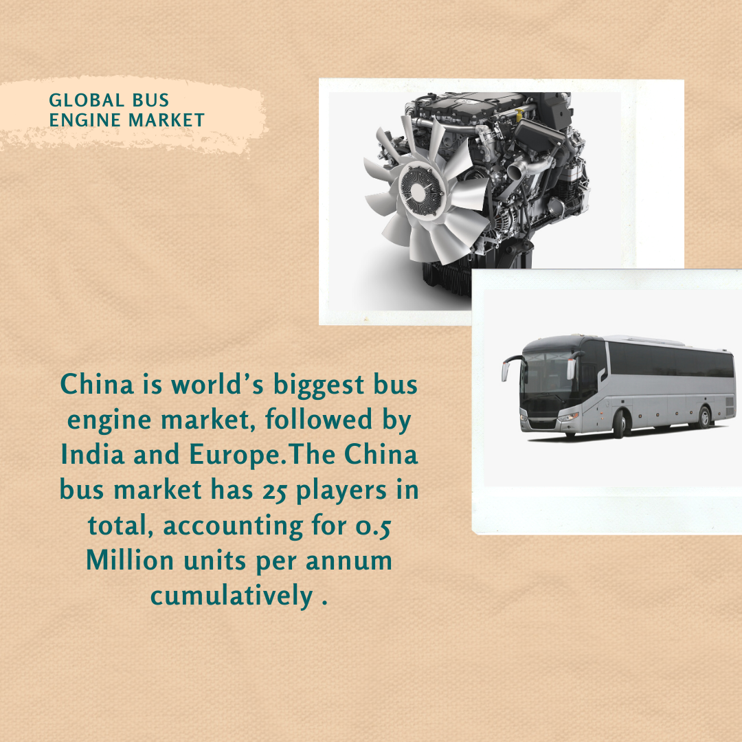 Info Graphic: Global Bus Engine Market
