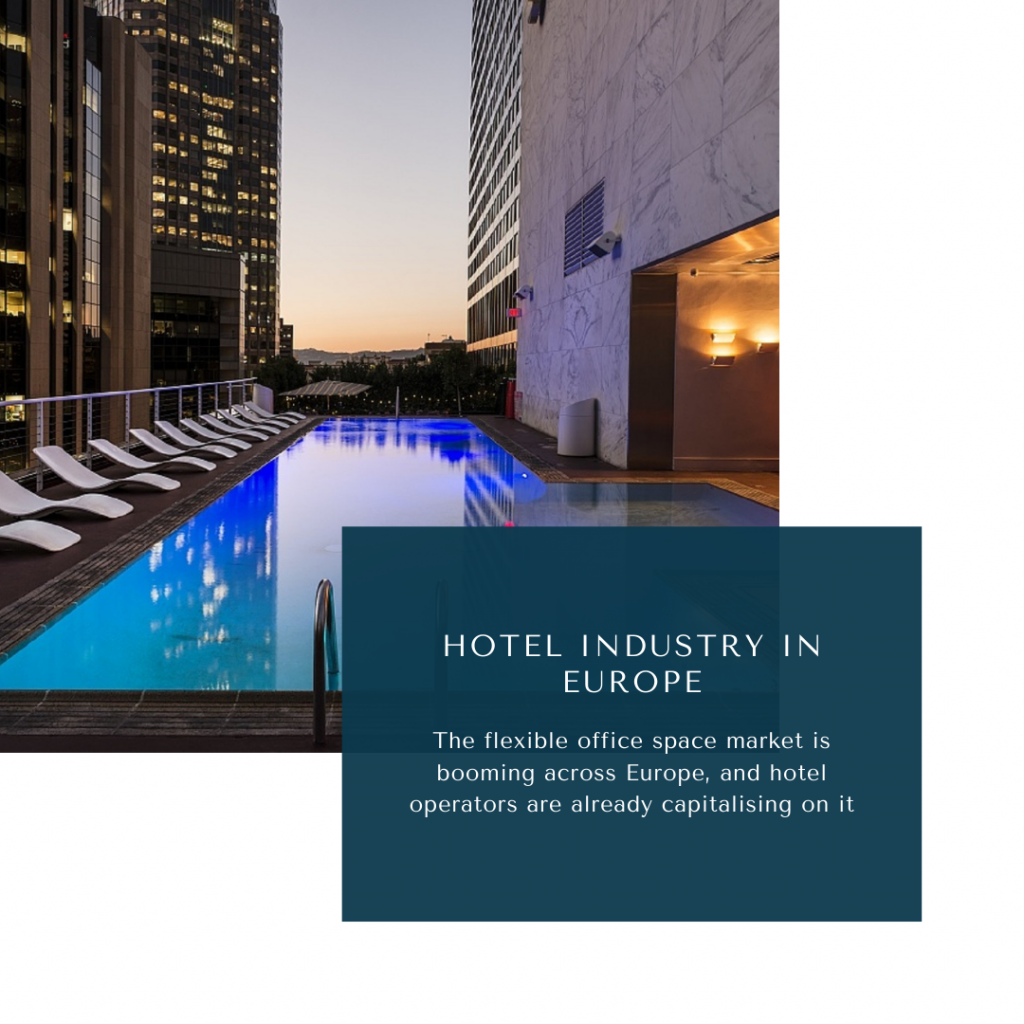 infographic: Hotel industry in Europe, online travel market in europe, europe hotel industry forecast, europe hotel industry trends, europe hotel market size