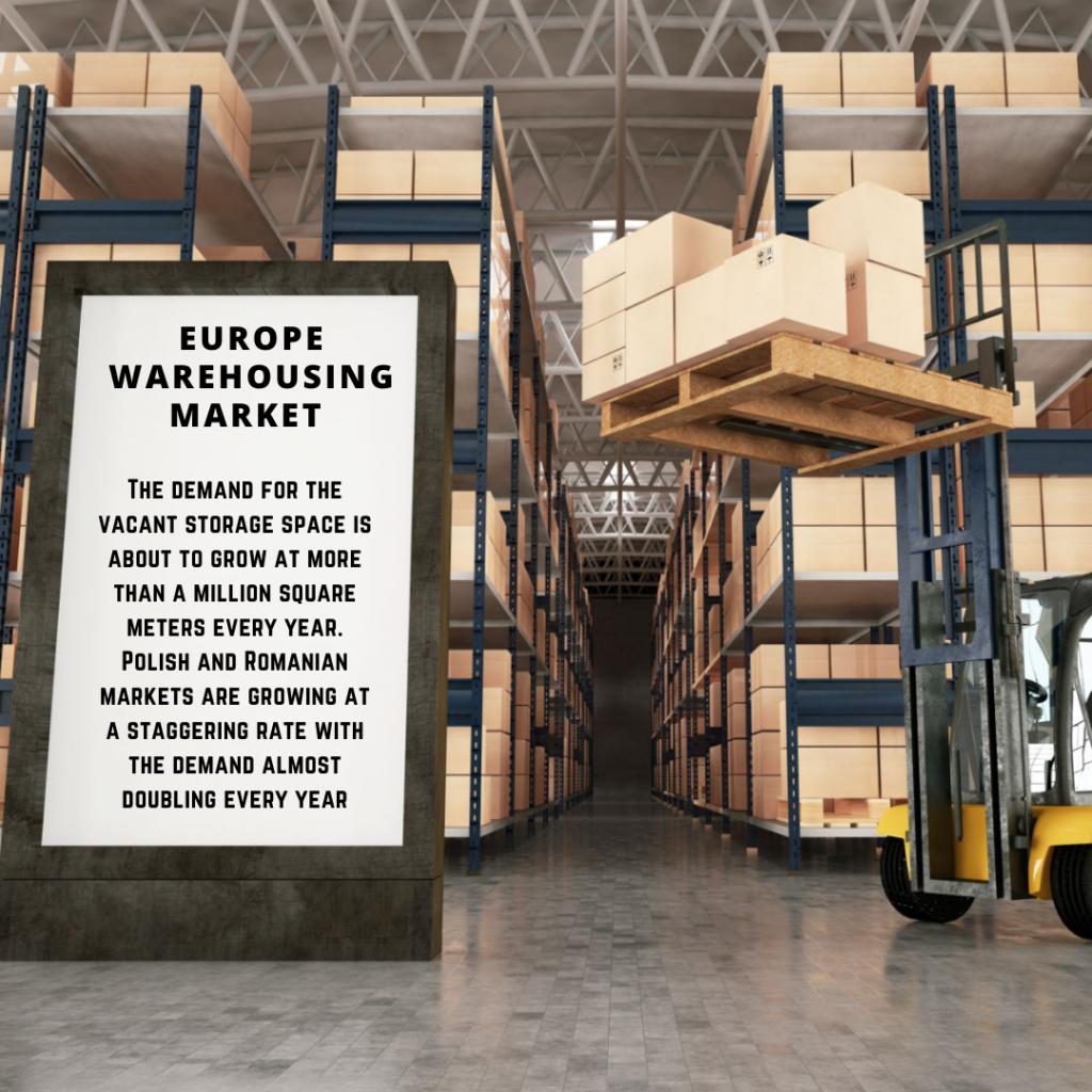 infographic: Europe Warehousing Market, Europe Warehousing Market size, Europe Warehousing Market trends and forecast, Europe Warehousing Market risks, Europe Warehousing Market report