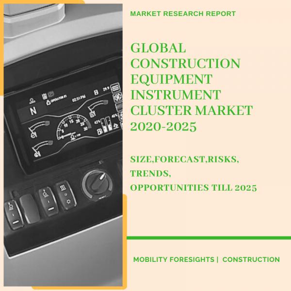 Construction Equipment Instrument Cluster Market