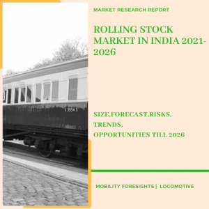 Rolling Stock Market in India segmented by coach type application and manufacturing
