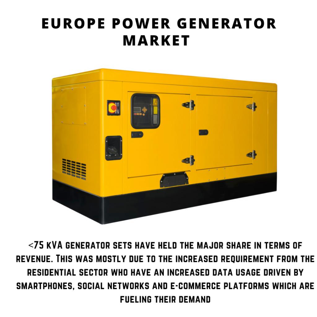 infographic: Europe Power Generator Market, Europe Power Generator Market size, Europe Power Generator Market trends, Europe Power Generator Market forecast, Europe Power Generator Market risks, Europe Power Generator Market report, Europe Power Generator Market share