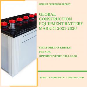 Construction Equipment Battery Market