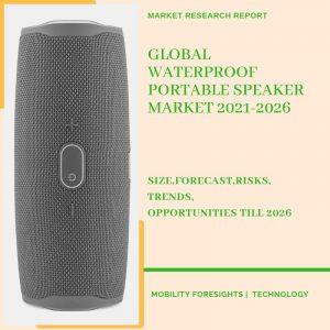 Waterproof Portable Speaker Market