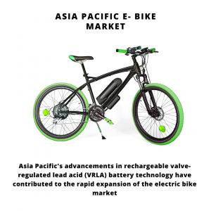 infographic: Asia Pacific E- Bike Market, Asia Pacific E- Bike Market Size, Asia Pacific E- Bike Market Trends, Asia Pacific E- Bike Market Forecast, Asia Pacific E- Bike Market Risks, Asia Pacific E- Bike Market Report, Asia Pacific E- Bike Market Share