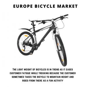 infographic: Europe Bicycle Market , Europe Bicycle Market Size, Europe Bicycle Market Trends, Europe Bicycle Market Forecast, Europe Bicycle Market Risks, Europe Bicycle Market Report, Europe Bicycle Market Share