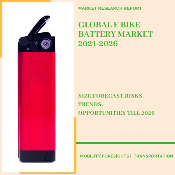 E Bike Battery Market