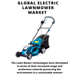 infographic: Electric Lawnmower Market, Electric Lawnmower Market Size, Electric Lawnmower Market Trends, Electric Lawnmower Market Forecast, Electric Lawnmower Market Risks, Electric Lawnmower Market Report, Electric Lawnmower Market Share