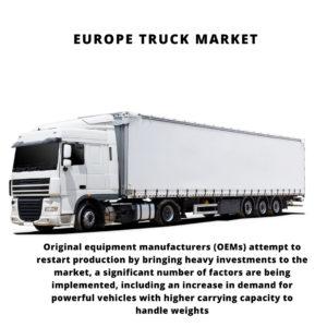 infographic: Europe Truck Market, Europe Truck Market Size, Europe Truck Market Trends, Europe Truck Market Forecast, Europe Truck Market Risks, Europe Truck Market Report, Europe Truck Market Share