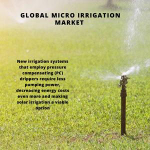 infographic: Micro Irrigation Market, Micro Irrigation Market Size, Micro Irrigation Market Trends, Micro Irrigation Market Forecast, Micro Irrigation Market Risks, Micro Irrigation Market Report, Micro Irrigation Market Share